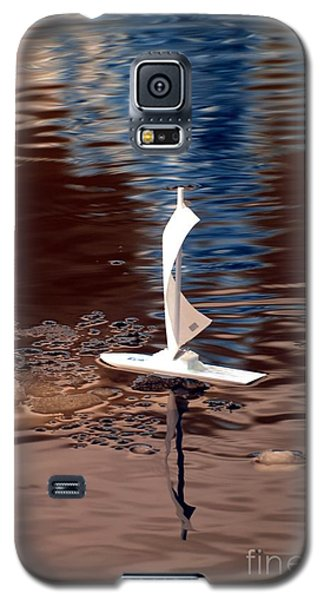 Galaxy S5 Case featuring the photograph Dream Of Sailing by Rebecca Parker