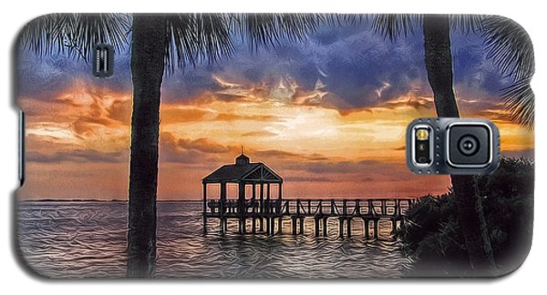 Galaxy S5 Case featuring the photograph Dream Pier by Hanny Heim