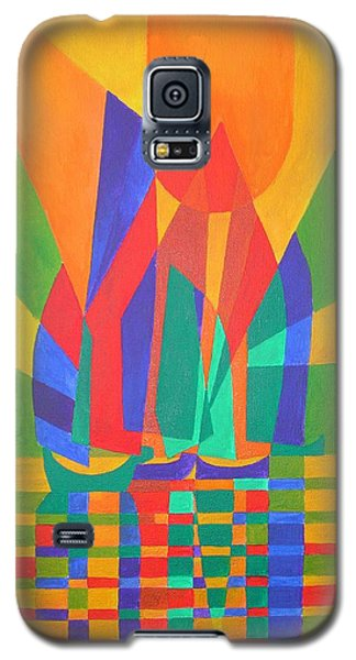 Galaxy S5 Case featuring the painting Dreamboat by Tracey Harrington-Simpson