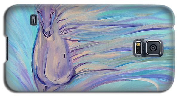 Galaxy S5 Case featuring the painting Dreamer by Stacey Zimmerman
