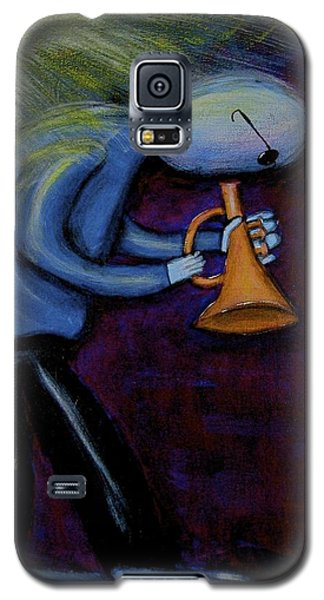 Galaxy S5 Case featuring the painting Dreamers 99-001 by Mario Perron