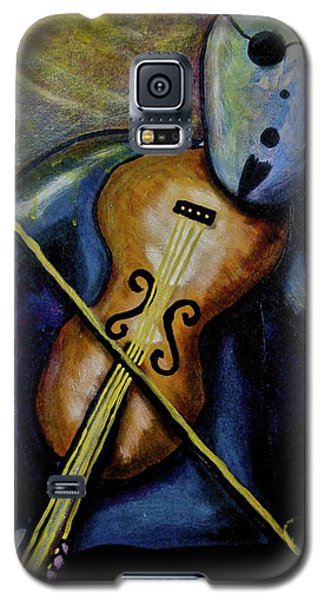 Galaxy S5 Case featuring the painting Dreamers 99-002 by Mario Perron