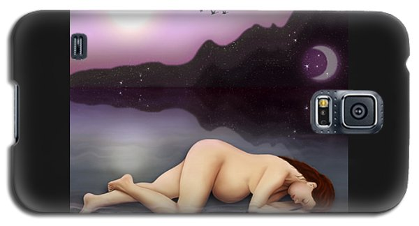 Galaxy S5 Case featuring the digital art Dreaming A Life by Rosa Cobos