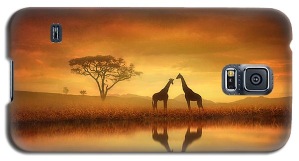 Dreaming Of Africa Galaxy S5 Case by Jennifer Woodward