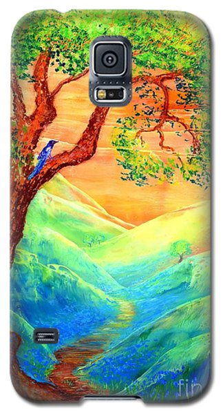 Dreaming Of Bluebells Galaxy S5 Case by Jane Small