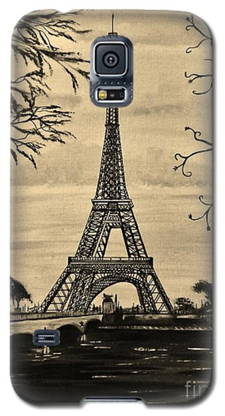 Dreaming Of Paris 2 Galaxy S5 Case by Brigitte Emme