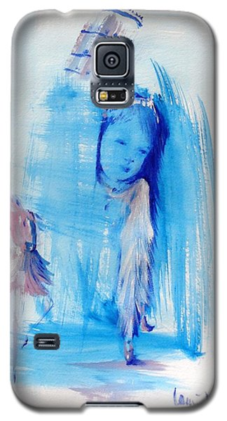 Galaxy S5 Case featuring the painting Dreaming Of Pisa by Laurie L