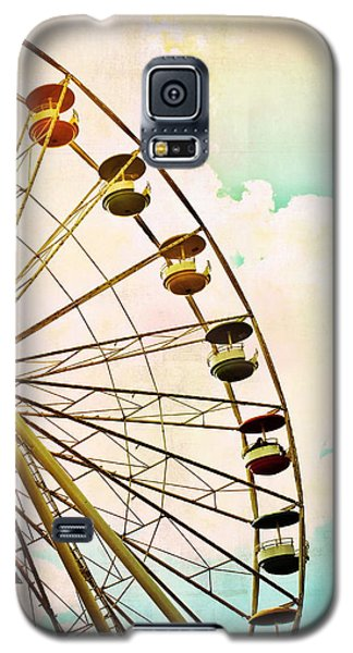 Dreaming Of Summer - Ferris Wheel Galaxy S5 Case by Colleen Kammerer