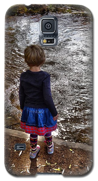 Galaxy S5 Case featuring the photograph Dreaming On Water					 by Lanita Williams