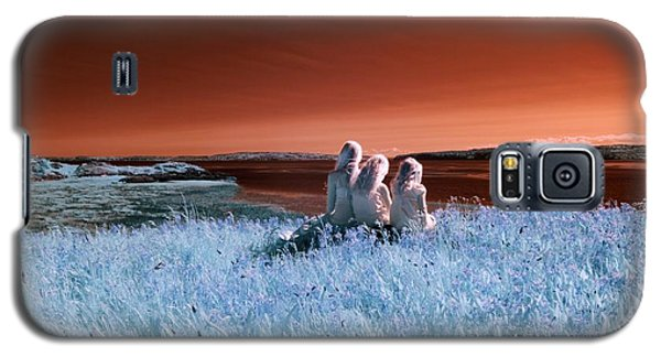 Dreaming Sisters Galaxy S5 Case by Rebecca Parker