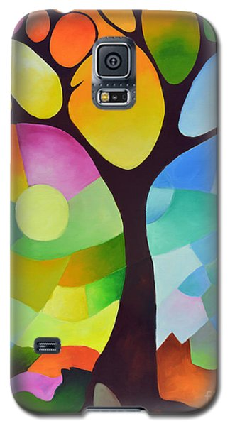 Dreaming Tree Galaxy S5 Case by Sally Trace