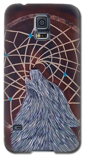 Dreaming Wolf Galaxy S5 Case