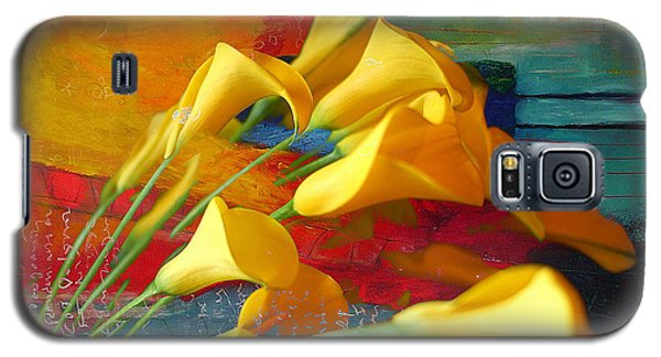Dreaming Yellow Galaxy S5 Case