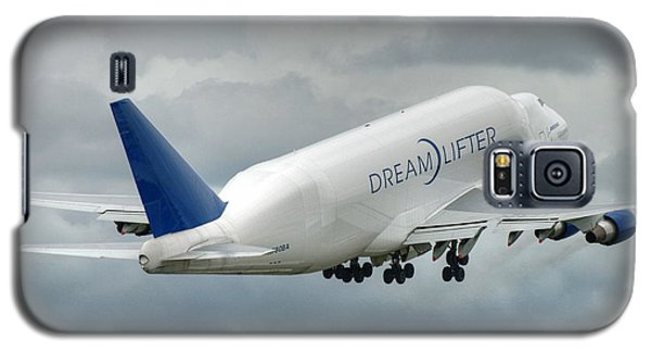 Galaxy S5 Case featuring the photograph Dreamlifter Takeoff 2 by Jeff Cook