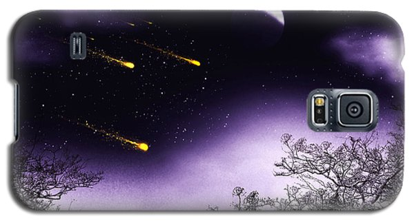 Galaxy S5 Case featuring the painting Dreams Come True by Persephone Artworks