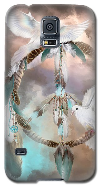 Dreams Of Peace Galaxy S5 Case by Carol Cavalaris