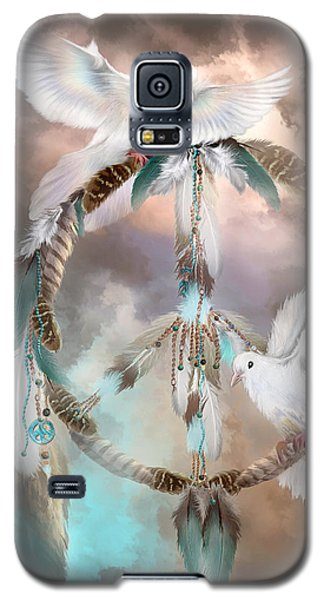 Dreams Of Peace Galaxy S5 Case by Carol Cavalaris