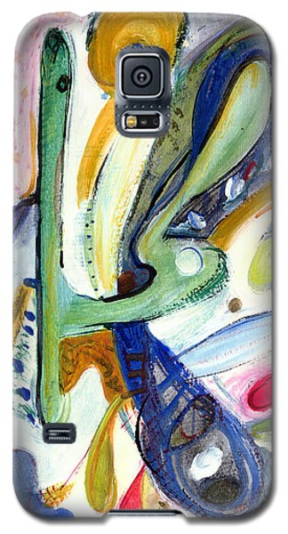 Galaxy S5 Case featuring the painting Dreams by Stephen Lucas