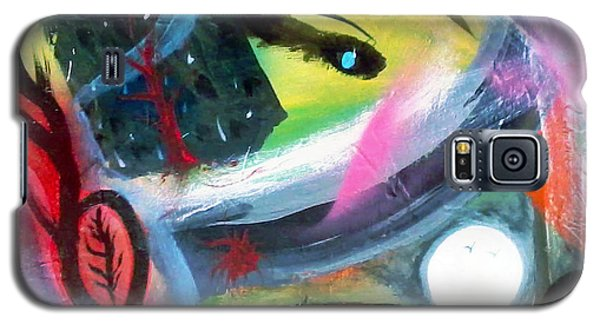 Galaxy S5 Case featuring the painting Dreams by Yul Olaivar