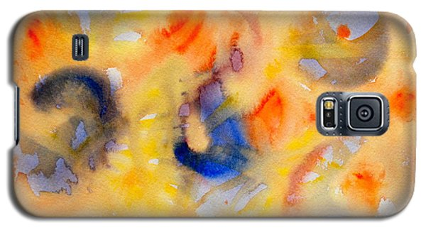 Galaxy S5 Case featuring the painting Dream In Color by Dee Dee  Whittle