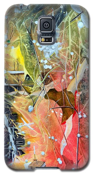 Galaxy S5 Case featuring the painting Dreamscape Of Aaralyn by Jackie Mueller-Jones