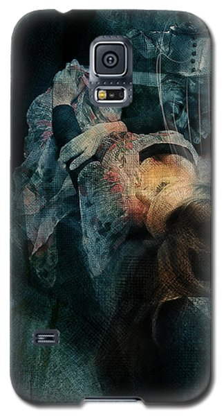 Galaxy S5 Case featuring the digital art Dreamweaver Urban Fantasy by Galen Valle