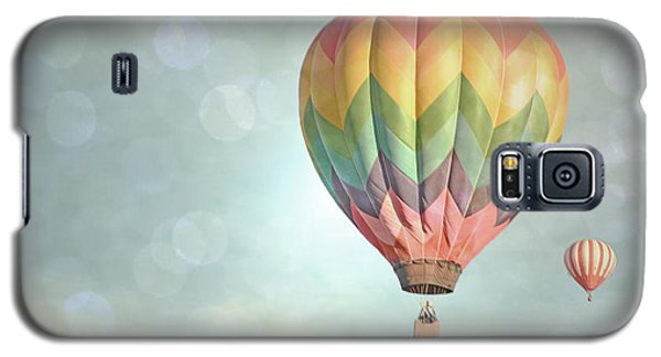 Dreamy Balloon Pair Sky Galaxy S5 Case by Andrea Hazel Ihlefeld
