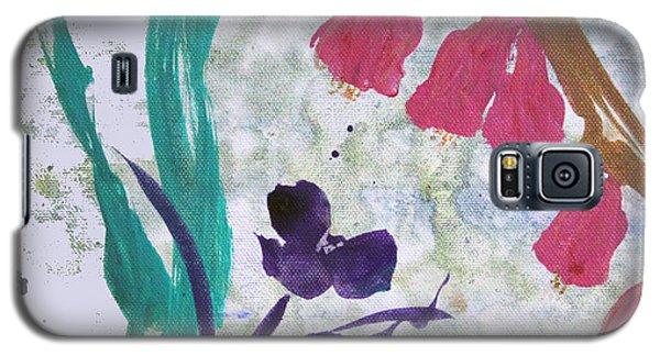 Dreamy Day Flowers Galaxy S5 Case