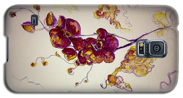 Dreamy Orchid Galaxy S5 Case