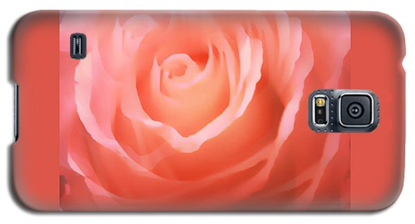 Dreamy Pink Rose Galaxy S5 Case