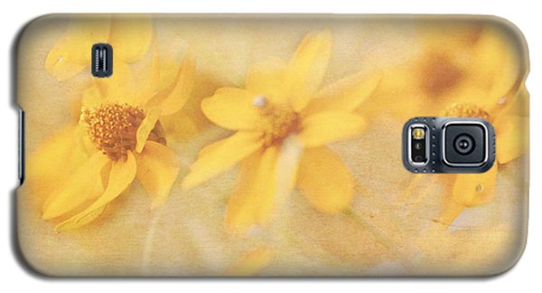 Dreamy Yellow Coreopsis Galaxy S5 Case
