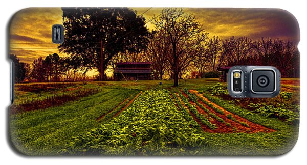 Dreary Farm Day Galaxy S5 Case by Lewis Mann