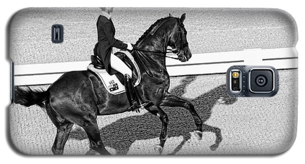 Dressage Une Noir Galaxy S5 Case by Alice Gipson