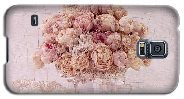 Galaxy S5 Case featuring the photograph Dried Peony Still Life by Sandra Foster