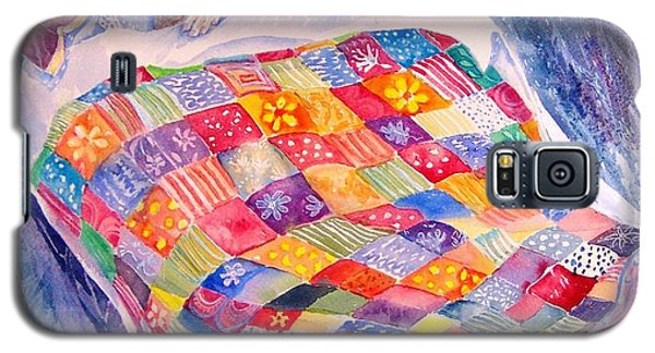 Galaxy S5 Case featuring the painting Drifting To Dreamland by Trudi Doyle