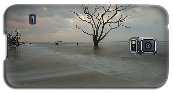 Galaxy S5 Case featuring the photograph Driftwood Dawn by Doug McPherson