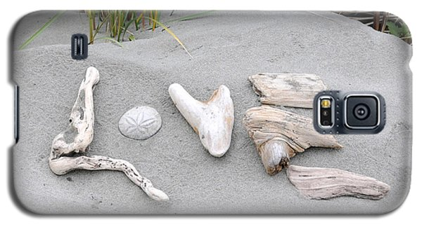 Driftwood Love Galaxy S5 Case