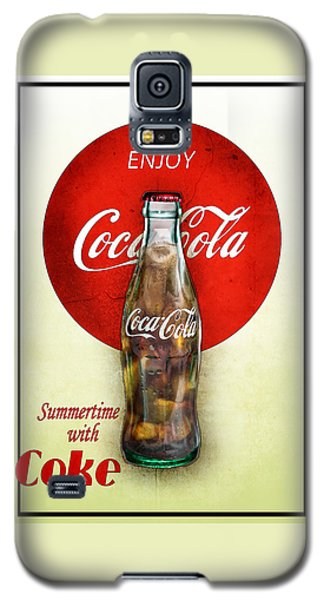 Drink Ice Cold Coke 2 Galaxy S5 Case