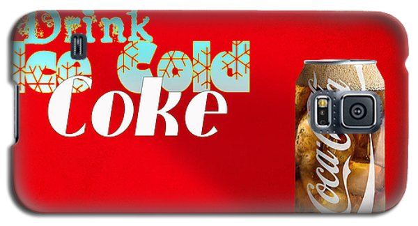 Drink Ice Cold Coke 3 Galaxy S5 Case