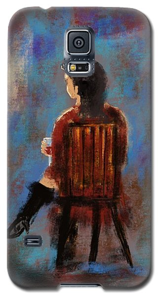 Drinking Woman Galaxy S5 Case