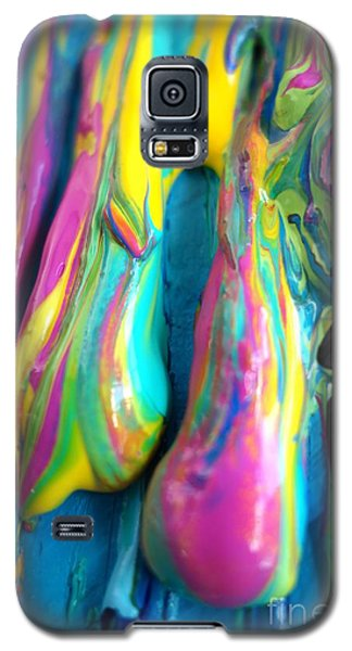 Dripping Paint #3 Galaxy S5 Case