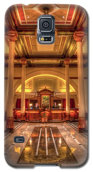 Galaxy S5 Case featuring the photograph Driskill Hotel Check-in by Tim Stanley