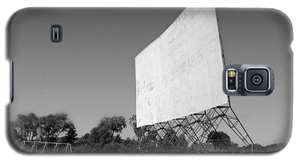 Galaxy S5 Case featuring the photograph Drive In Theater by Tom Brickhouse