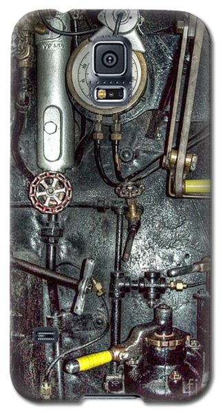 Galaxy S5 Case featuring the photograph Driving Steam by MJ Olsen