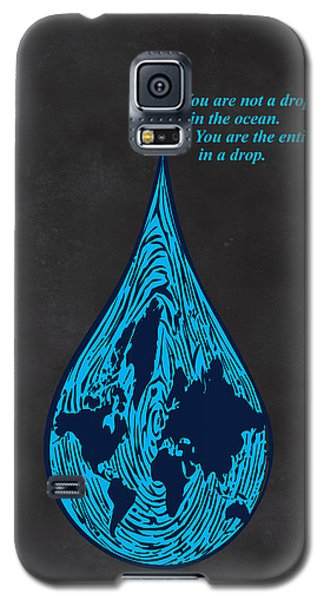 Drop In The Ocean Galaxy S5 Case by Sassan Filsoof
