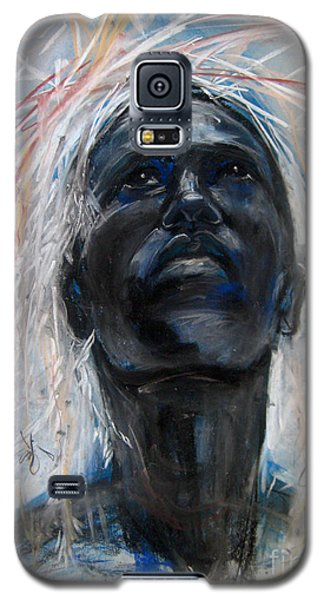 Galaxy S5 Case featuring the drawing Drought by Gabrielle Wilson-Sealy