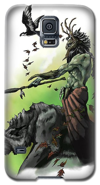 Dungeon Galaxy S5 Case - Druid by Matt Kedzierski