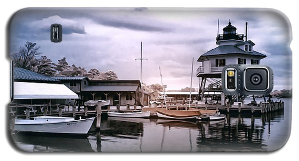 Drum Point In Infrared Watercolor Galaxy S5 Case