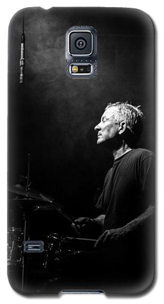 Drum Galaxy S5 Case - Drummer Portrait Of A Muscian by Bob Orsillo