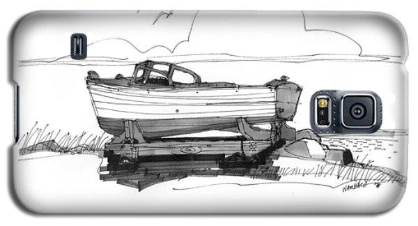 Dry Dock In Ocracoke Nc 1970s Galaxy S5 Case